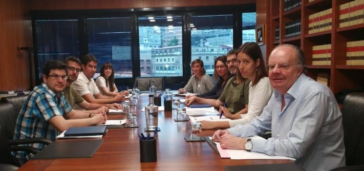 Reunión del proyecto HOLOPLUS