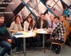 Los miembros del proyecto HOLOPLUS en CONXEMAR 2017
