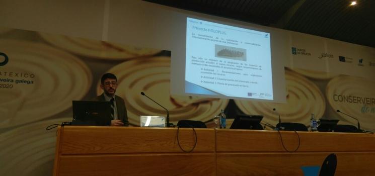La plataforma inteligente del proyecto HOLOPLUS es presentada en la Jornada de Trazabilidad en los productos de la pesca y acuicultura y la obligación de la transmisión electrónica de la información